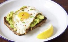 Eat Breakfast Erin Heatherton's Eggs & Avocado