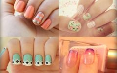 Lovely manicure ideas for woman with short nail!