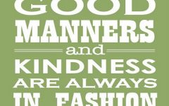 The 16 Rules of Modern Etiquette