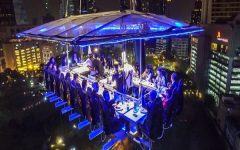 Dinner in the Sky' Takes off in Thailand for the first time ever