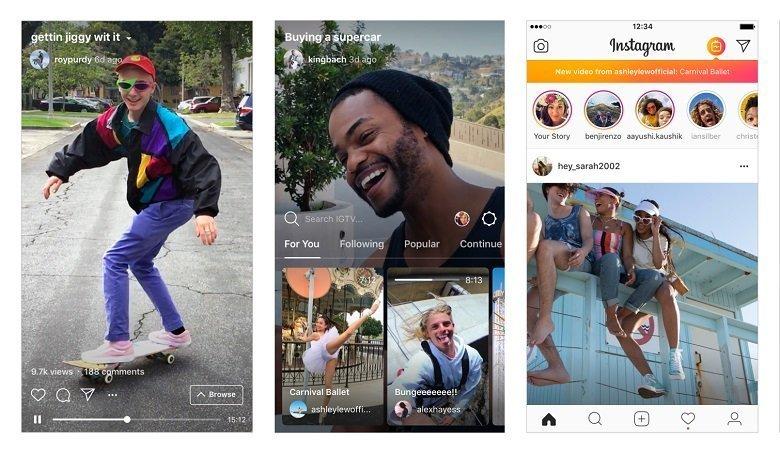 Instagram เปิดเผยขั้นตอนการใช้ฟีเจอร์ในการทำวีดีโอยาวโดยแอป IGTV