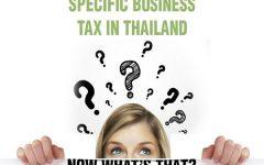 ภาษีธุรกิจเฉพาะในประเทศไทย คืออะไรกันแน่ ?
