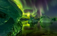 Nordic Islands seen in their 'surreal light'