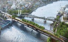 'Garden bridge' across Bangkok's Chao Phraya opens soon