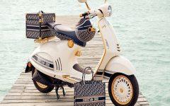 แฟนพันธุ์แท้ห้ามพลาด! Vespa 946 Christian Dior Limited Edition ผลิตเพียง 50 คัน