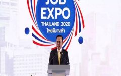 Prime Minister Promises Over a Million Jobs at Thailand's Job Expo
