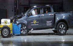 Isuzu D-Max 2021 ใหม่ คว้าคะแนนความปลอดภัยระดับ 5 ดาวจาก Euro NCAP