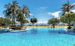 Beach bums will wanna take advantage of the special offers at Hotel Nikko Bali Benoa Beach this December