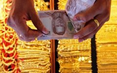 Gold Prices in Thailand Spike as the Thai Bahts Continues Devaluation