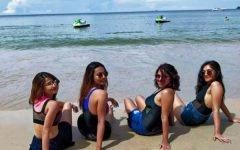 Vaccinated Foreign Tourists Enjoying their Phuket Sandbox Experience