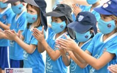 St. Andrews International School, joins global event for children's wellbeing